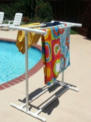 Easy DIY Towel Racks Ideas That You Can Do This 19