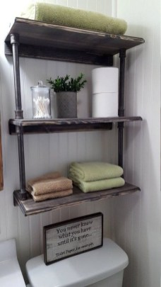 Easy DIY Towel Racks Ideas That You Can Do This 23