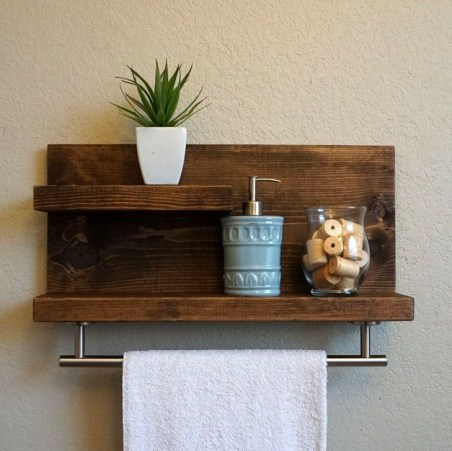 Easy DIY Towel Racks Ideas That You Can Do This 33