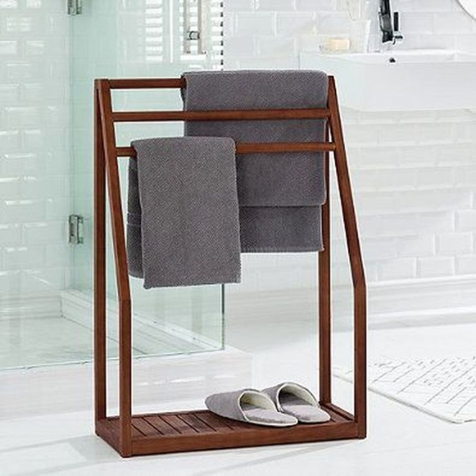 Easy DIY Towel Racks Ideas That You Can Do This 47