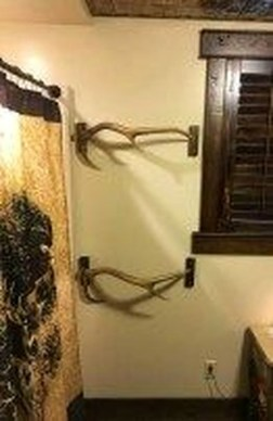 Easy DIY Towel Racks Ideas That You Can Do This 49