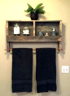Easy DIY Towel Racks Ideas That You Can Do This 51