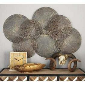 Fabulous Metal Wall Decor Ideas For Your Living Room 02