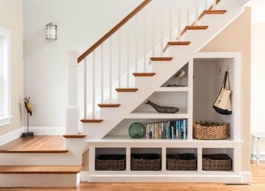 Genius Under Stairs Storage Ideas For Minimalist Home 08