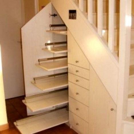 Genius Under Stairs Storage Ideas For Minimalist Home 16