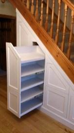 Genius Under Stairs Storage Ideas For Minimalist Home 37