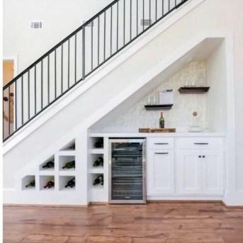 Genius Under Stairs Storage Ideas For Minimalist Home 48