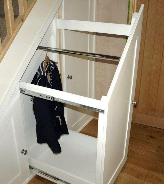 Genius Under Stairs Storage Ideas For Minimalist Home 53