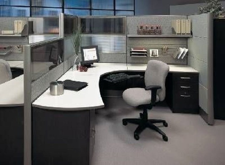 Gorgeous Cubicle Workspace To Make Your Work More Better 06