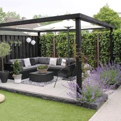 Impressive Seating Area In The Garden For Decoration 22