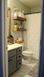 Inspiring Bathroom Decoration Ideas With Farmhouse Style 40