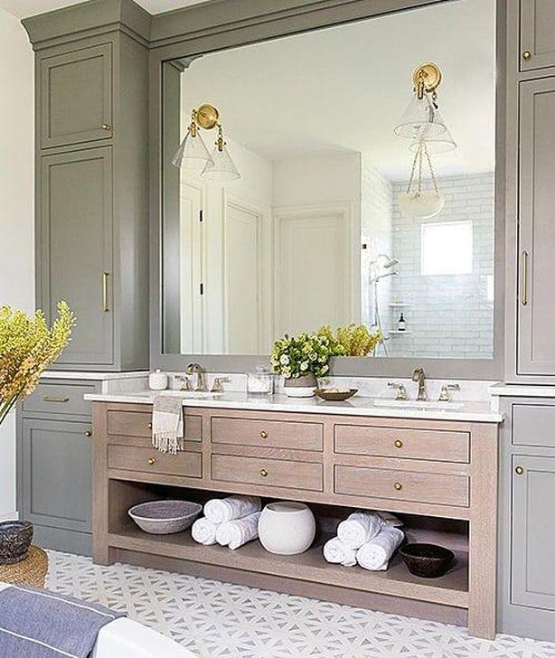 Inspiring Bathroom Design Ideas With Amazing Storage 18