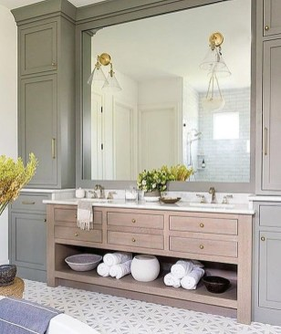 Inspiring Bathroom Design Ideas With Amazing Storage 18