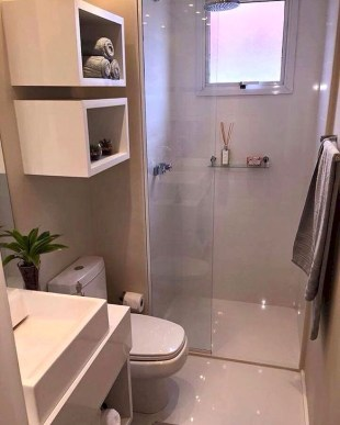 Inspiring Bathroom Design Ideas With Amazing Storage 25