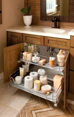 Inspiring Bathroom Design Ideas With Amazing Storage 26
