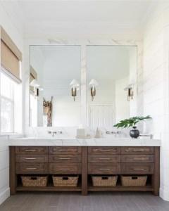 Inspiring Bathroom Design Ideas With Amazing Storage 31