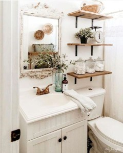 Inspiring Bathroom Design Ideas With Amazing Storage 32