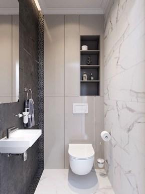 Inspiring Bathroom Design Ideas With Amazing Storage 35