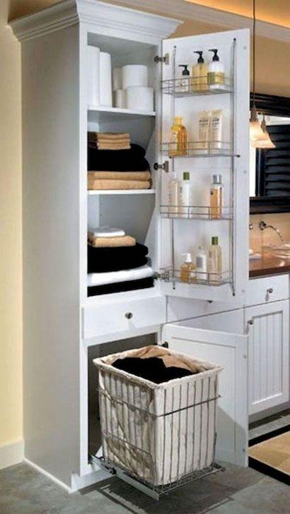 Inspiring Bathroom Design Ideas With Amazing Storage 44