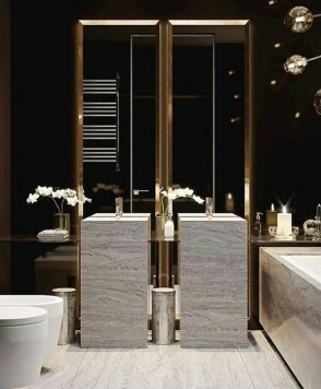 Luxurious Furniture To Upgrade Your Elegant Bathroom 06