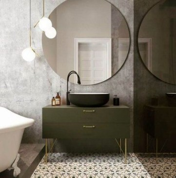 Luxurious Furniture To Upgrade Your Elegant Bathroom 25
