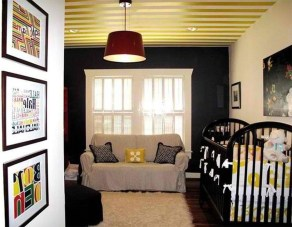 Outstanding Striped Ceiling Bedroom Decoration Ideas 14