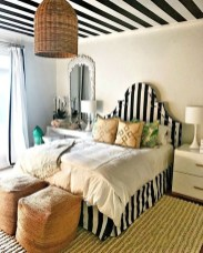 Outstanding Striped Ceiling Bedroom Decoration Ideas 15