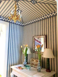Outstanding Striped Ceiling Bedroom Decoration Ideas 35