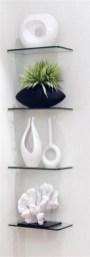Perfect Glass Shelves Ideas For Bathroom Design 02