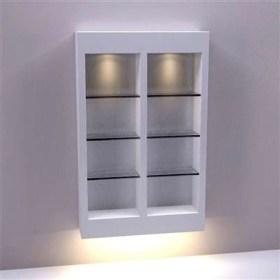 Perfect Glass Shelves Ideas For Bathroom Design 30