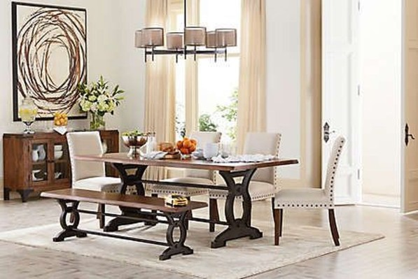 Popular Organic Dining Room Design Ideas 26
