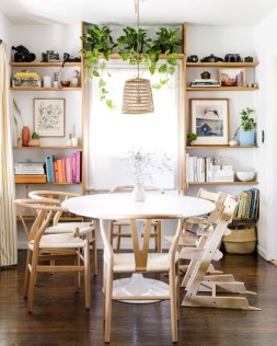 Popular Organic Dining Room Design Ideas 32