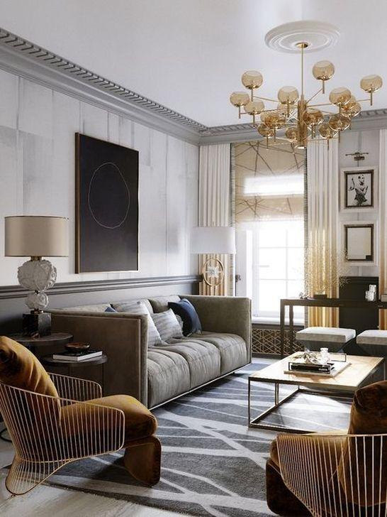 Wonderful Lighting Ideas In The Living Room 10