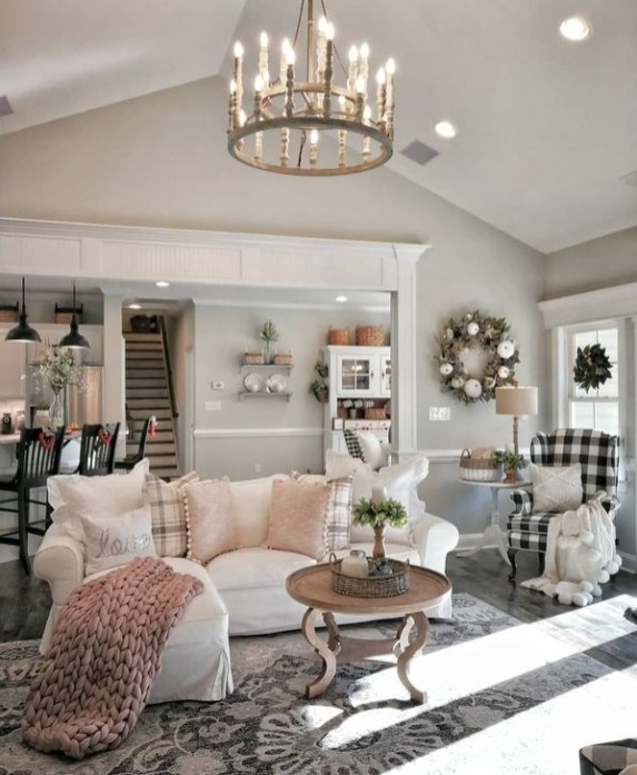 Amazing French Country Living Room Design Ideas For This Fall 47