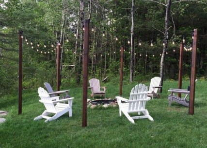 Astonishing Outdoor Lights For Decorating Backyards In Summer 06