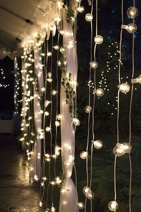 Astonishing Outdoor Lights For Decorating Backyards In Summer 07