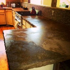 Awesome Kitchen Concrete Countertop Ideas To Inspire 13