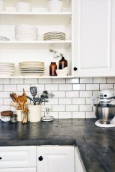 Awesome Kitchen Concrete Countertop Ideas To Inspire 21