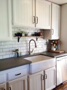 Awesome Kitchen Concrete Countertop Ideas To Inspire 27