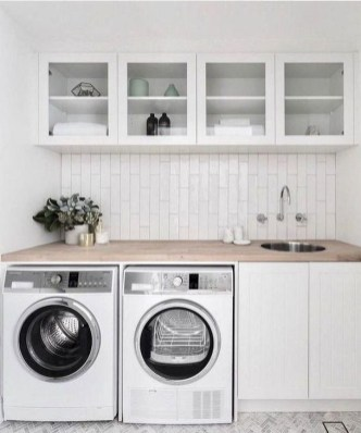 Best Tips To Upgrade Your Laundry Room Design 46