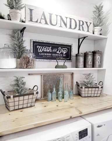 Best Tips To Upgrade Your Laundry Room Design 48