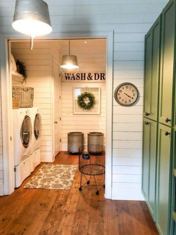 Best Tips To Upgrade Your Laundry Room Design 50