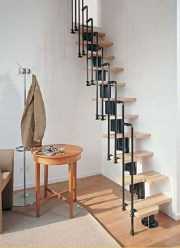 Brilliant Stair Design Ideas For Small Space 03