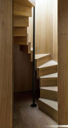 Brilliant Stair Design Ideas For Small Space 25