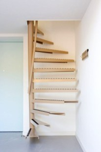 Brilliant Stair Design Ideas For Small Space 46