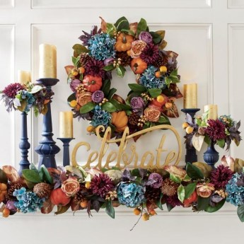 Easy And Simple Fall Garland Decoration Ideas 03