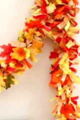 Easy And Simple Fall Garland Decoration Ideas 12