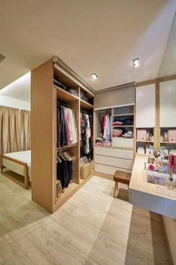 Elegant Wardrobe Design Ideas For Your Small Bedroom 07
