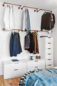 Elegant Wardrobe Design Ideas For Your Small Bedroom 16