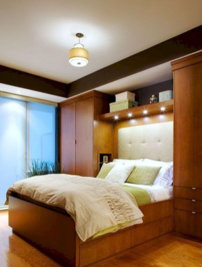 Elegant Wardrobe Design Ideas For Your Small Bedroom 20